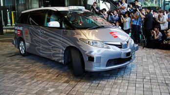 Már Japánban is van önvezető taxi