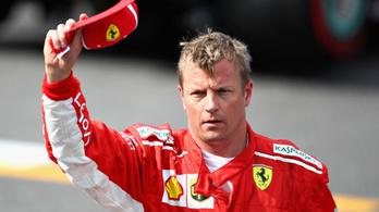 Kimi Räikkönen óriási körrekorddal a pole-ban minden idők egyik legjobb időmérőjén