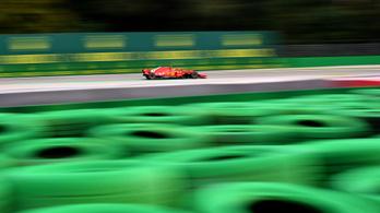 10 mp alatt háromszor dőlt meg az F1-történet 14 éves leggyorsabb köre