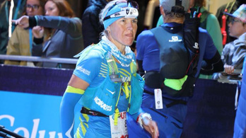 Wermescher Ildikó a hetedik lett a 170 km-es Mont Blanc-futáson