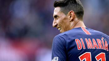 Szögletből szerzett gólt Di María