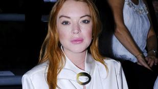 Lindsay Lohan szexi próbált lenni, de nevetség tárgya lett