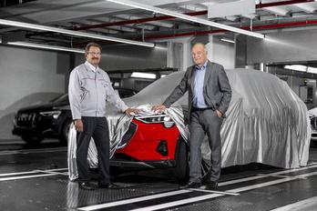 Elkezdődött az új villany-Audi gyártása