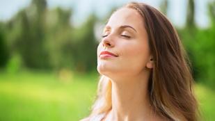 Az orron át légzés újabb pozitív hatására derült fény