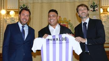 Ronaldo spanyol futballklubot vásárolt