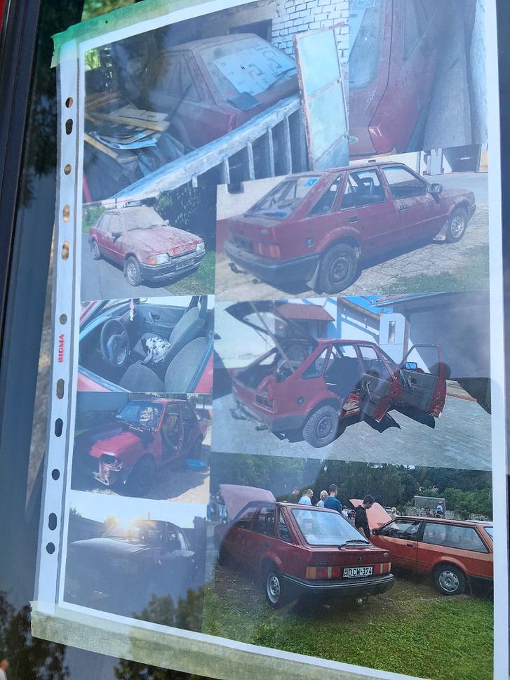 ...ha valaki látta a képeket, hogy milyen állapotban volt a kocsi korábban...