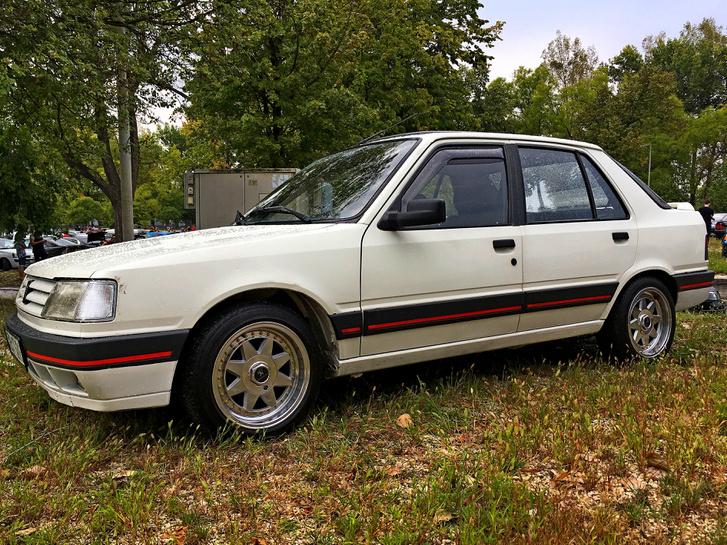 Te mikor láttál utoljára Peugeot 309-est a forgalomban?