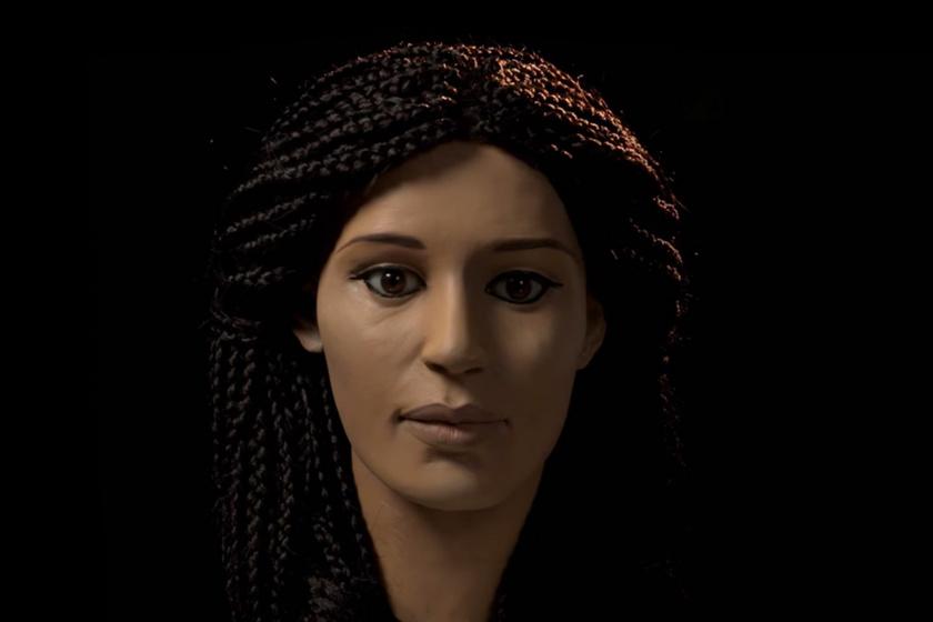 2000 év után keltették életre a lányt: Meritamun csodaszép lehetett