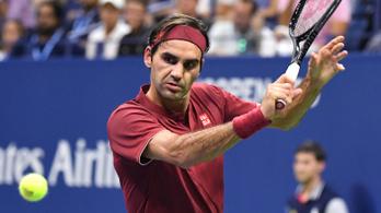 A hőség, a hibák kinyírták Federert