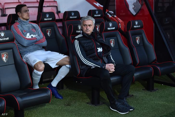 Matic és Mourinho