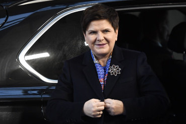 Poland: Beate Szydlo                         Beate Szydlo is the Deputy Prime Minister of Poland and vice chairman of the right-wing populist Law and Justice party (PiS) that holds the majority in the parliament. The party is strongly against EU migrant quotas and in 2017, then-Prime Minister Szydlo came under fire for seemingly using an appearance at former Auschwitz-Birkenau Nazi German death camp to highlight her anti-migrant policies.