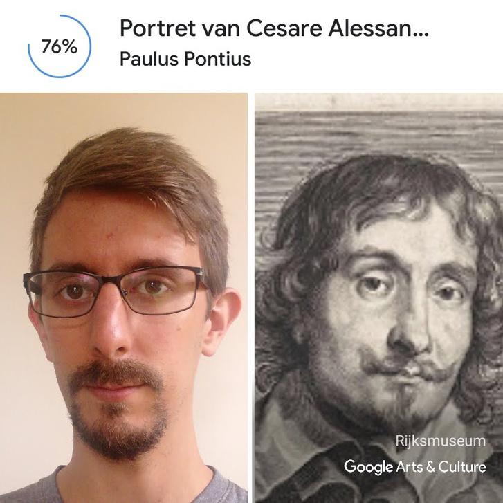 Bolcsó lovagi gúnya nélkül, egy szimpla Cesare Alessandro Scagliaként