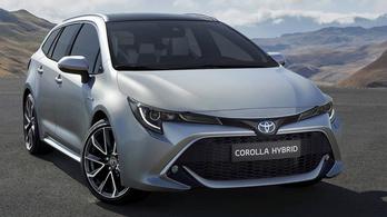 Megmutatták az új Toyota Corolla kombit