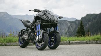 Teszt: Yamaha Niken – 2018.