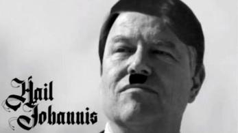 A volt román pénzügyminiszter kisfilmjében náciként mutatta be Klaus Iohannist