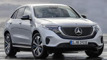 Az első Mercedes, amely villanyautónak született