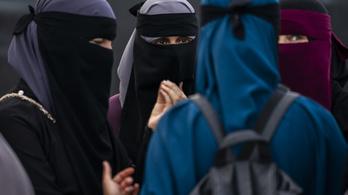 Újabb nikábot viselő török turistát bírságoltak meg Dániában