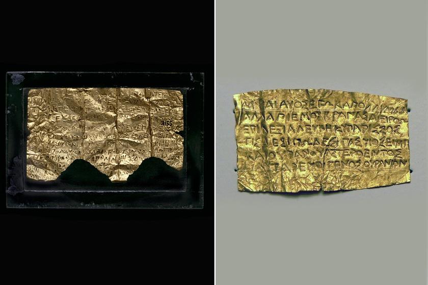 Arany útlevél a Paradicsomba: ezzel temették halottaikat a görögök
