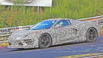 Nem mese a középmotoros Corvette