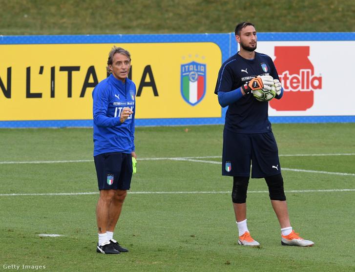 Mancini és Donnarumma
