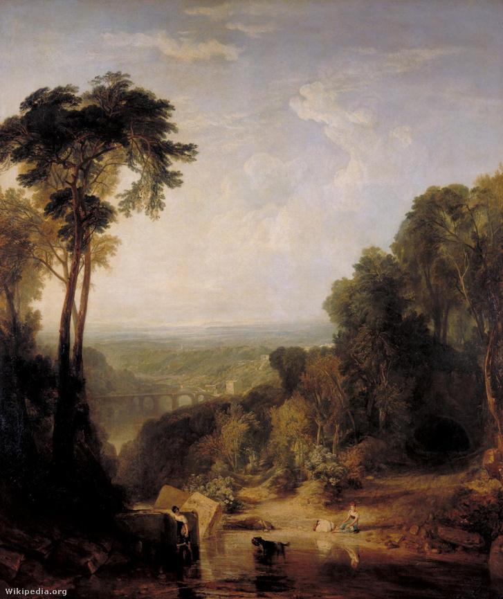 Az 1815 nyarán Tambora hegy kitörése miatt jellemző sárga égbolt nagy hatással volt a J.M.W. Turner festményeire.
