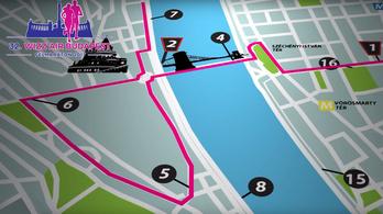 Ezeket az utakat zárják le vasárnap a Wizz Air Budapest félmaraton miatt