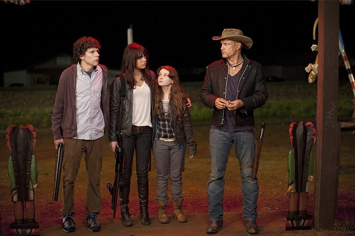 Jesse Eisenberg, Emma Stone, Abigail Breslin és Woody Harrelson