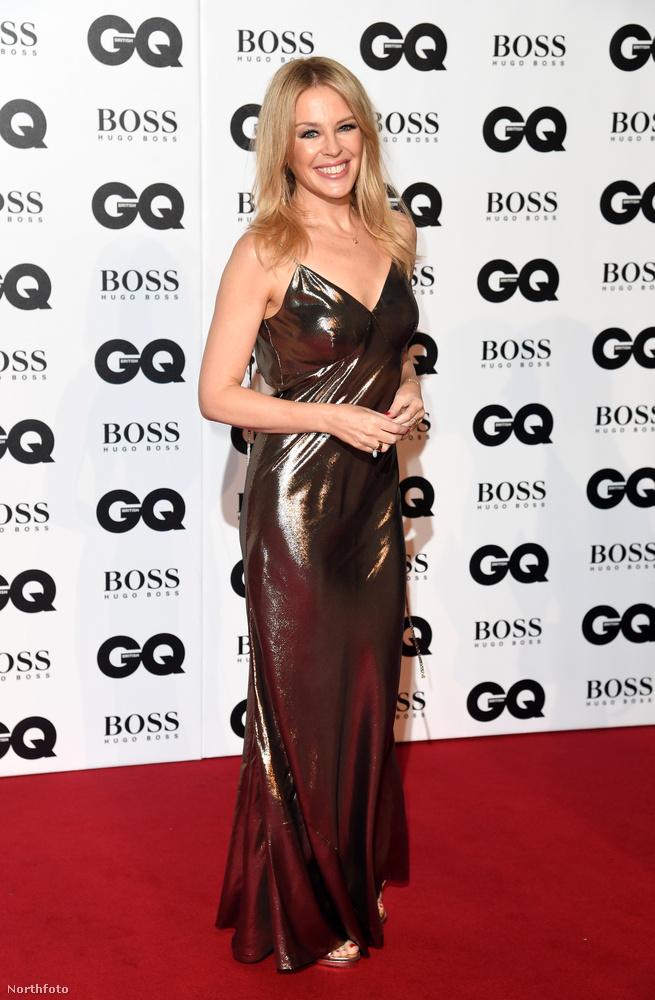 Kylie Minogue is kitett magáért, ha már egyszer az év embereit díjazta a GQ.