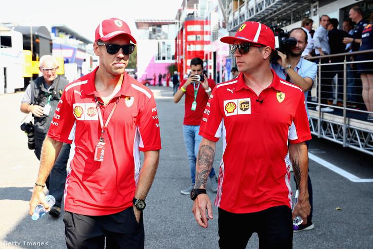 Vettel és Räikkönen