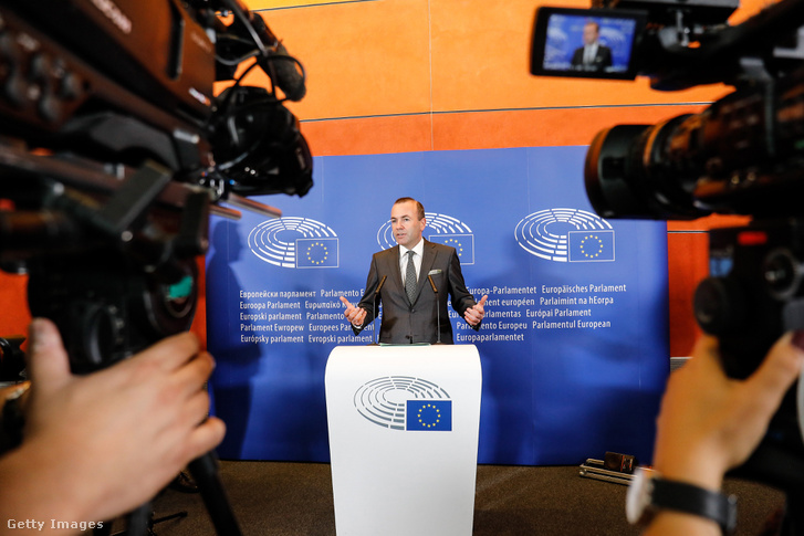 Manfred Weber az Európai Parlamentben. Brüsszel, Belgium 2018.09.05.