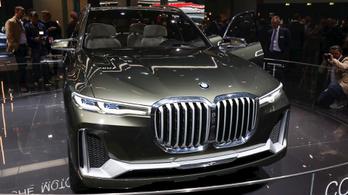 Ősszel érkezik a legnagyobb BMW