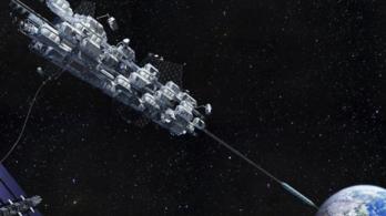 A japánok napokon belül kipróbálják a világ első űrliftjét