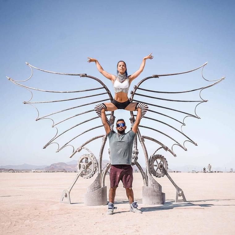 Szóval idén se kellett csalódni a Burning Man látványvilágában