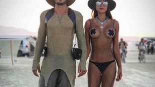 Letapasztott mellbimbók és tüskés bugyi: a leglátványosabb szettek a Burning Manről
