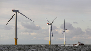 A világ legnagyobb tengeri szélerőművét avatták fel Angliában