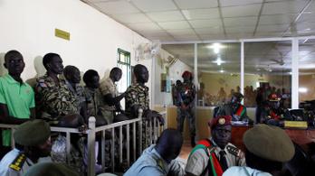 Elítélték a gyilkos, erőszakoló dél-szudáni katonákat