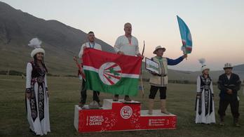 Íjászatban jött az első magyar arany a Nomád Világjátékokon