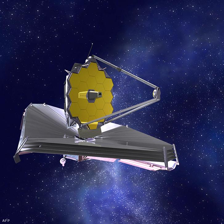 A Webb-űrrtávcső egy látványterven