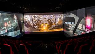 Az új ScreenX technológia egy bűnrossz mozifilmet is képes feljavítani