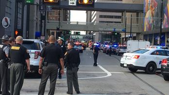 Lövöldözés egy bankban Cincinnatiben, több sérült