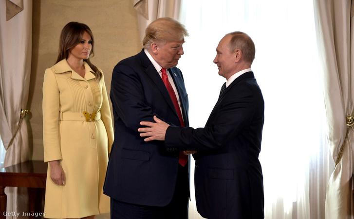 Donald Trump és Vlagyimir Putyin