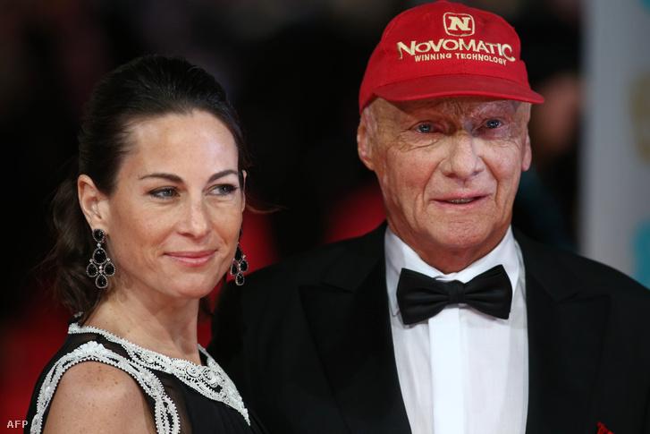 Niki Lauda és Felesége 2014-ben