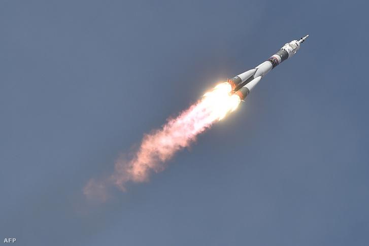 Szojuz MSZ-09 fellövése 2018.06.06