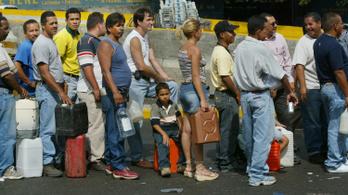 Égett a főváros, mikor utoljára ilyesmit lépett a venezuelai vezetés