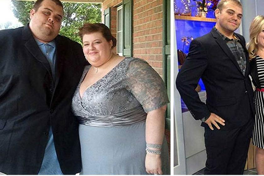 Összesen 244 kilót fogyott ez az amerikai házaspár. Akkor kezdtek el fogyókúrázni, amikor a férfi rosszul lett a munkahelyén, de a kórházban csak tippelni tudtak, mi a baja, mert nem fért be a röntgengépbe.