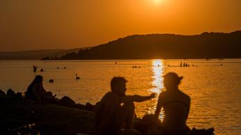 Sok az antidepresszáns a Balatonban