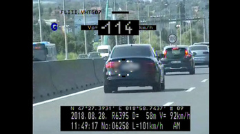 Így működik a magyar rendőrök mozgatható traffipaxa