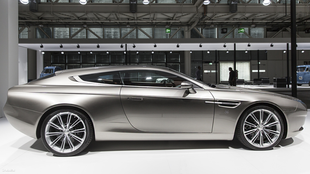Zagato Aston Martin Virage, 2014. Az olasz autódizájner cég, a Carrozzeria Zagato a brit autógyártó 100. és a saját 95. születésnapjára rajzolta meg az Aston Martin exkluzív kétajtós kombijának még exkluzívabb változatát. Az egyetlen példányban létező jármű talán az utóbbi évtizedek legszebb Aston Martin sportautója.