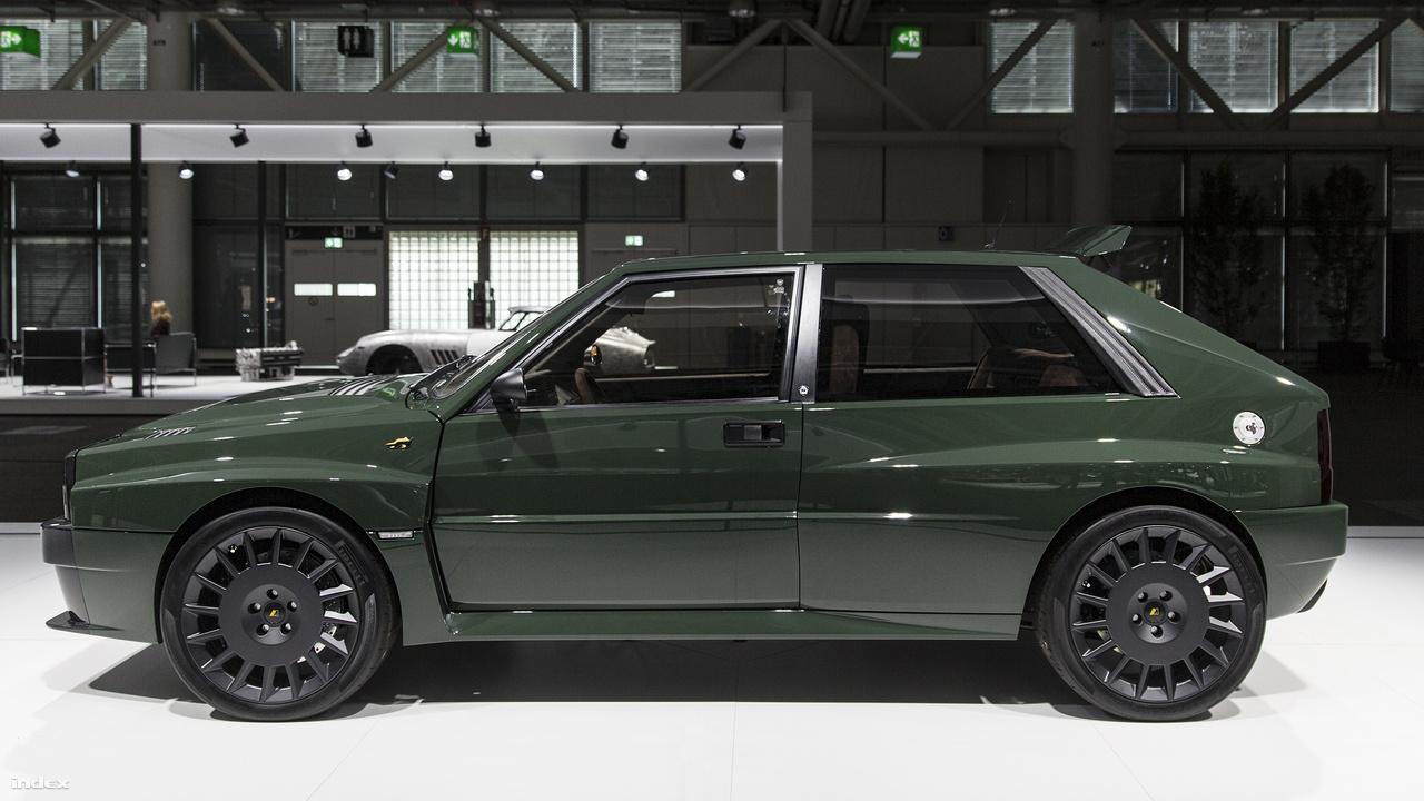 Lancia Delta Integrale Futurista, 2018. Akik rajongásig szeretik a cikk elején számba vett Lancia rally-autókat, azoknak igazán remek hír, hogy az Automobili Amos jóvoltából, újra kapható lesz - igaz csupán 15, meglehetősen egyedi darab. A gyártó ezer új alkatrász felhasználásval gyakorlatilag újraalkotja a rendelkezésre álló használt autókat, ahogy tette ezt a nemcsak nevében, de egy sor dizájnelemben is futurista példánnyal is.