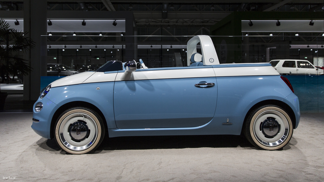 10900e8fb3 Fiat 500 Spiaggina, Garage Italia, 2018. Hatvan évvel ezelőtt, 1958-ban